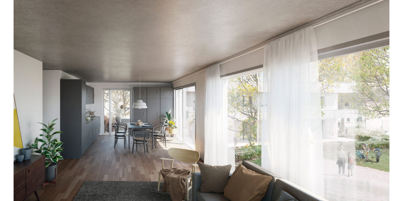 High quality render for architecture visualization